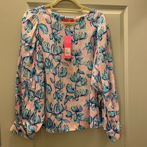 NWT Lilly Pulitzer Maisel Top sz large